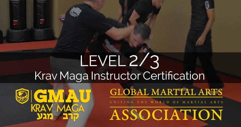 Krav Maga Level 23 Instructor Certification